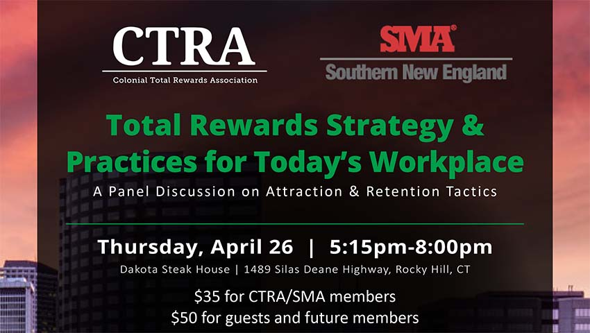 Total Rewards Strategy & Practices event flyer